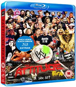WWE: The Attitude Era [Blu-ray] Blu-ray