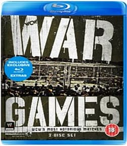 WWE: War Games - WCW's Most Notorious Matches [Blu-ray] Blu-ray