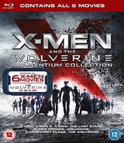 X-Men And The Wolverine Adamantium Collection [Blu-ray 3D + Blu-ray] Blu-ray
