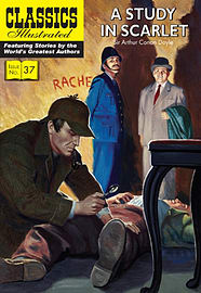 A Study in Scarlet (Classics Illustrated) (Paperback) Books