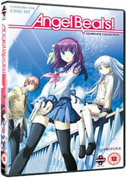 Angel Beats Complete Series Collection [DVD] DVD