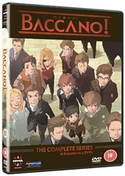 Baccano! The Complete Collection [DVD] DVD