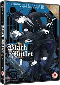 Black Butler Complete Series 2 Collection [DVD] DVD