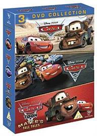 Cars, Cars 2 & Cars Toon: Mater's Tall Tales Box Set [DVD] DVD