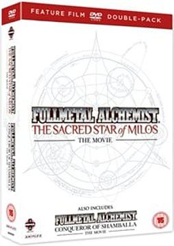 Fullmetal Alchemist Movie s 1 & 2 Double Pack (The Sacred Star Of Milos/Conqueror of Shamballa [DVD] DVD
