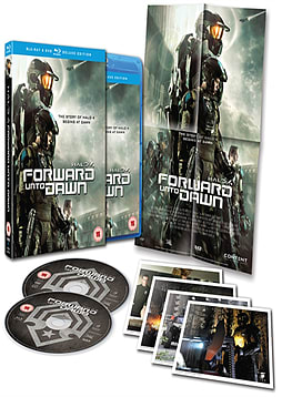 Halo 4: Forward Unto Dawn Deluxe Edition Blu-ray/DVD Combo DVD