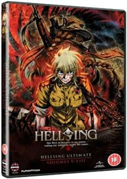 Hellsing Ultimate Volume 5-8 Collection [DVD] DVD
