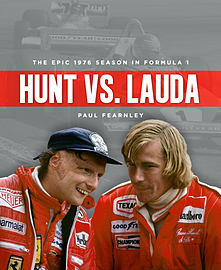 Hunt vs. Lauda: The Epic 1976 Formula 1 Season (Hardcover) Books