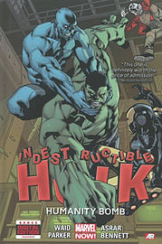 Indestructible Hulk Volume 4: Humanity Bomb (Marvel Now) (Hardcover) Books