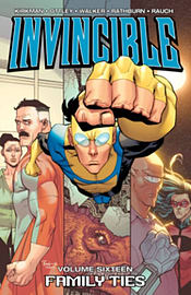 Invincible Volume 16: Family Ties TP (Paperback) Books