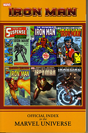 Iron Man: Official Index To The Marvel Universe GN-TPB (Paperback) Books
