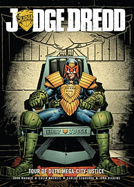 Judge Dredd Tour of Duty: Mega-City Justice (Paperback) Books