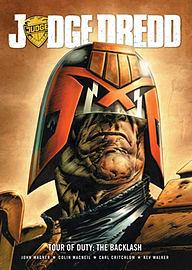 Judge Dredd Tour of Duty: The Backlash (2000ad Judge Dredd) (Paperback) Books