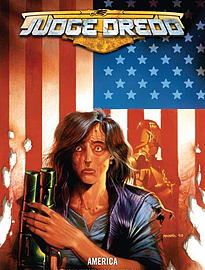 Judge Dredd: America (Paperback) Books