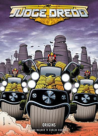 Judge Dredd: Origins (2000 Ad) (Paperback) Books