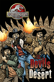Jurassic Park: The Devils in the Desert TP (Paperback) Books