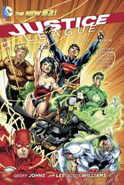 Justice League Volume 1: Origin TP (The New 52) (Paperback) Books