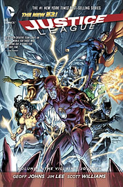 Justice League Volume 2: The Villain's Journey HC (The New 52) (Hardcover) Books