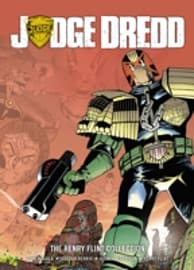 JUDGE DREDD THE HENRY FLINT COLLECTION Books