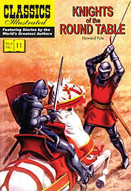 Knights of the Round Table (Classics Illustrated) (Paperback) Books