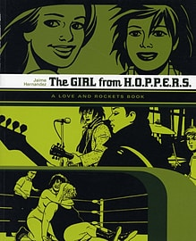 Love and Rockets: Girl from H.O.P.P.E.R.S. (Love & Rockets) (Paperback) Books