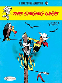 Lucky Luke Vol.35: The Singing Wire (Lucky Luke Adventure) (Paperback) Books