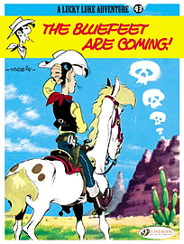 Lucky Luke Vol.43 The Bluefeet are Coming! (Lucky Luke Adventures) (Paperback) Books