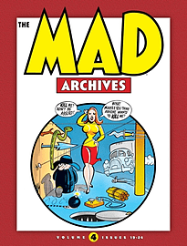 Mad Archives Volume 4 HC: 19-24 (Hardcover) Books