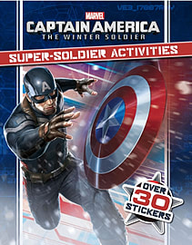 Marvel Captain America the Winter Soldier Super-Soldier Activities (Paperback) Books