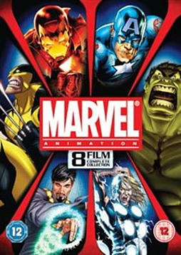 Marvel Complete Animation Collection - 8 Films [DVD] DVD
