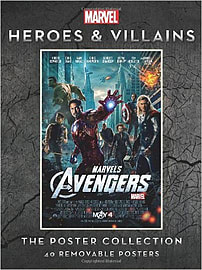 Marvel Heroes and Villians : Poster Collection (Paperback) Books