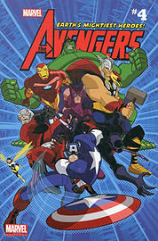 Marvel Universe Avengers Earth's Mightiest Comic Reader 4 (Marvel Comic Readers) (Paperback) Books