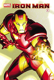 Marvel Universe Iron Man - Comic Reader 1 (Marvel Comic Readers) (Paperback) Books