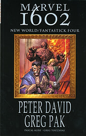 Marvel 1602: New World/Fantastick Four TPB (Graphic Novel Pb) (Paperback) Books
