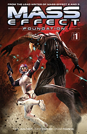 Mass Effect: Foundation Volume 1 (Paperback) Books