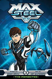 Max Steel 1 - The Parasites (Paperback) Books