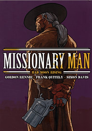 Missionary Man Bad Moon Rising (2000 Ad) (Paperback) Books