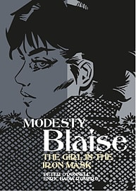 Modesty Blaise - The Girl In The Iron Mask (Modesty Blaise (Graphic Novels)) (Paperback) Books