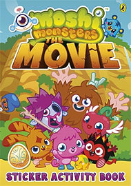 Moshi Monsters: The Movie Sticker Book (Paperback) Books
