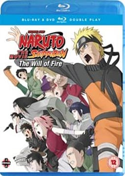 Naruto Shippuden Movie 3: The Will of Fire Blu-ray / DVD Combo Pack - Limited Edition DVD