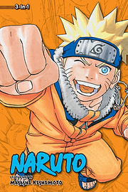 Naruto: 3-in-1 Edition 7 (Paperback) Books