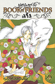 Natsume's Book of Friends Vol 4 (Paperback) Books