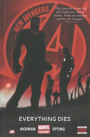 New Avengers - Volume 1: Everything Dies (Marvel Now) (Hardcover) Books