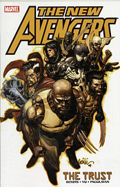 New Avengers Volume 7: The Trust TPB (Graphic Novel Pb) (Paperback) Books