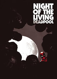 Night of the Living Deadpool (Paperback) Books