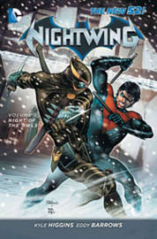Nightwing Volume 2: Night of the Owls TP (The New 52) (Paperback) Books