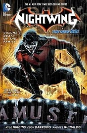 Nightwing Volume 3: Death of the Family TP (The New 52) (Nightwing (Numbered)) (Paperback) Books