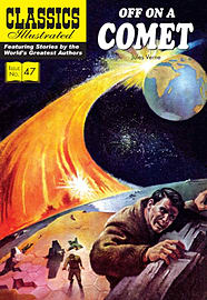 Off on a Comet (Classics Illustrated) (Paperback) Books