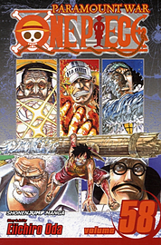 One Piece 58 (Paperback) Books