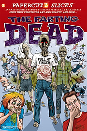 Papercutz Slices #5: The Farting Dead (Paperback) Books